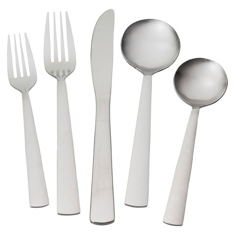 Room Essentials™ Casper 20 Piece Stainless Steel Flatware Set