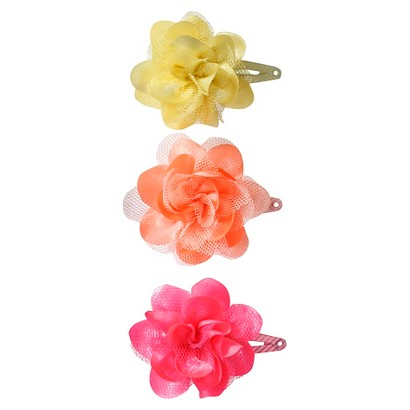 Cherokee® Infant Girls' 3 Piece Hair Clips - Assorted
