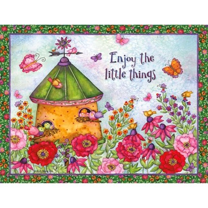 Birdhouses Deluxe Boxed Note Cards