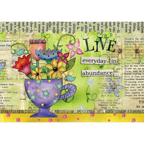 Color My World Petite Note Cards