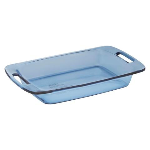 Pyrex Tinted Glass 3 qt. Baking Pan - Atlantic Blue