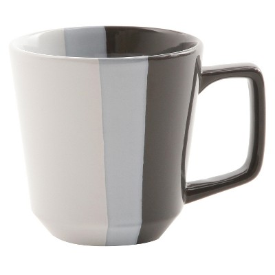 Room Essentials™ Tri-Band Ceramic Mug - Gray