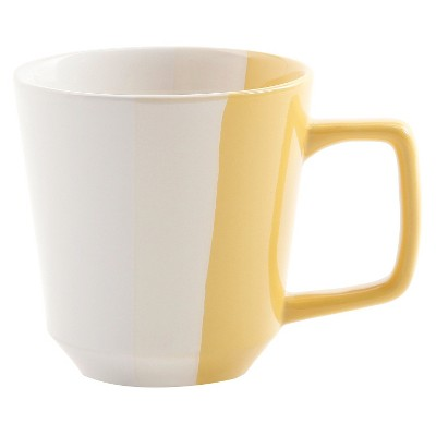 Room Essentials™ Tri-Band Ceramic Coffee Mug - Yellow