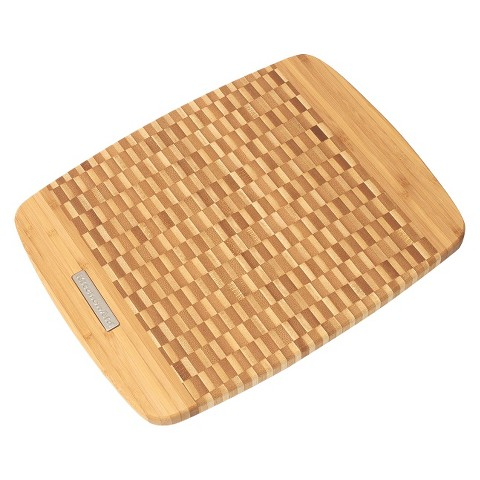 "KitchenAid® 11x14"" End Grain Bamboo Cutting Board"