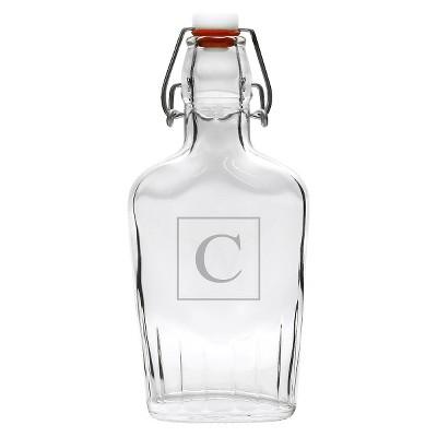 Personalized Monogram Glass Dispenser - C