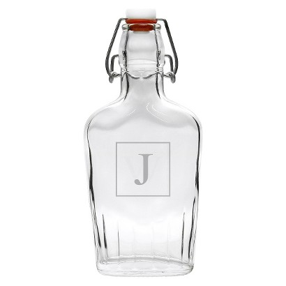 Personalized Monogram Glass Dispenser - A-Z