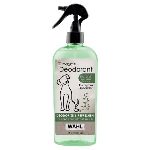 Wahl Doggie Deodorant Spray Eucalyptus Spearmint 8 oz