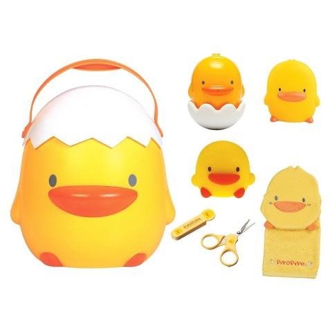 Piyo Piyo 7pc Toddler Bathing Gift Set