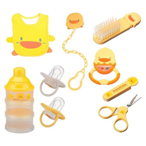 Piyo Piyo 7pc Baby Care Essentials Gift Set