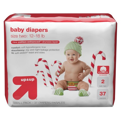 up & up® Elf Diapers (Select Size)