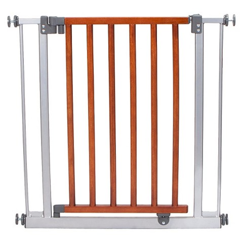 North States Chesapeake Wood and Metal Pet Gate