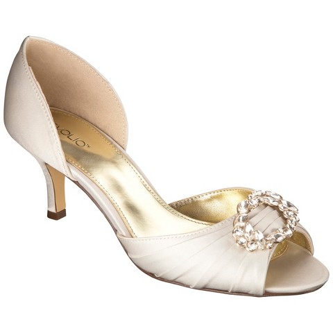Women's Tevolio® Tambra Satin D'Orsay Pump - Assorted Colors