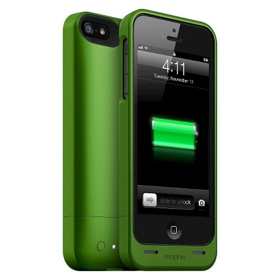 mophie Helium Mobile Phone Battery Charger for iPhone 5 - Green (40858TGW)