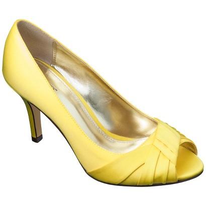 Women's Tevolio® Trista Satin Peep Toe Pump - Assorted Colors