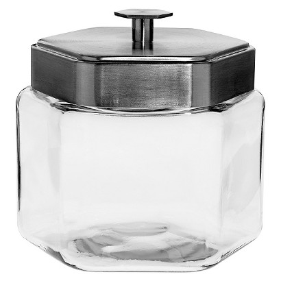 Anchor Honeycomb Glass Canister (64 oz)