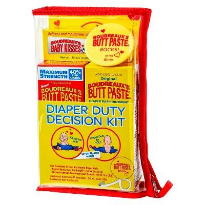 Boudreaux's Paste Diaper Duty Decision Kit
