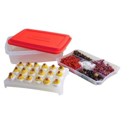 RACHAEL RAY FOODTASTIC PARTY BOX - RED