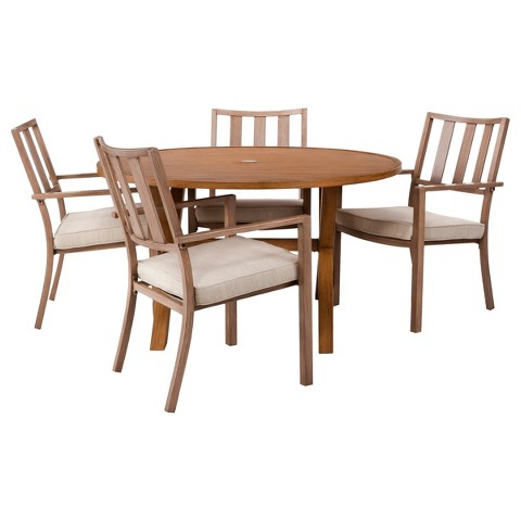 Threshold™ Holden 5-Piece Metal Round Dining Furniture Set