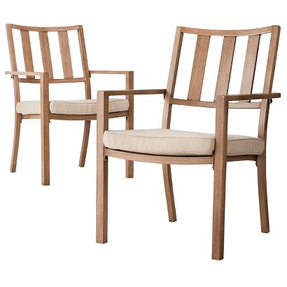 Threshold™ Holden 2-Piece Metal Patio Dining Chair Set