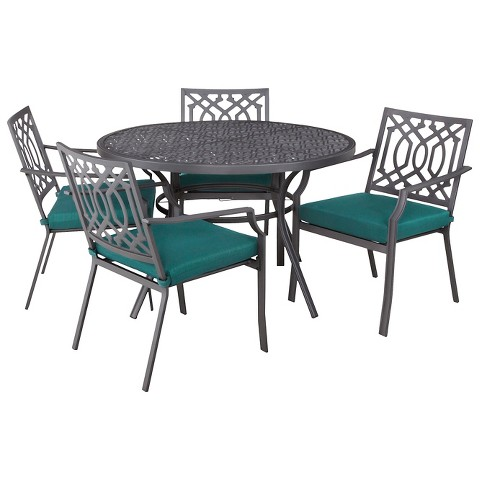 Harper 5 Piece Round Patio Dining Furniture Set Target