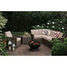 Heatherstone 6-Piece Wicker Patio Sectional Seating Furniture Set - Threshold™