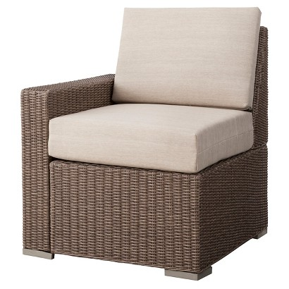 Threshold™ Heatherstone Wicker Patio Sectional Right Arm Chair