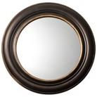 Threshold™ Round Wide Patina Mirror