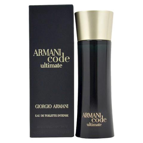 Men's Armani Code Ultimate by Giorgio Armani  Eau de Toilette Spray - 2.5 oz