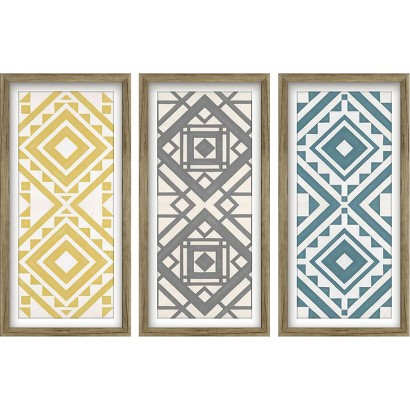 Modern Quilt Art 3 Pack - Citron 12x24