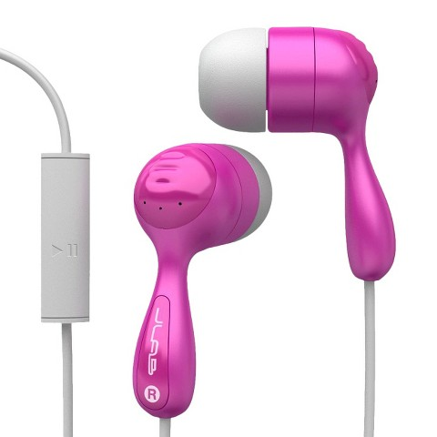 JLab JBuds In-Ear Headphones with Mic - Assorted Colors