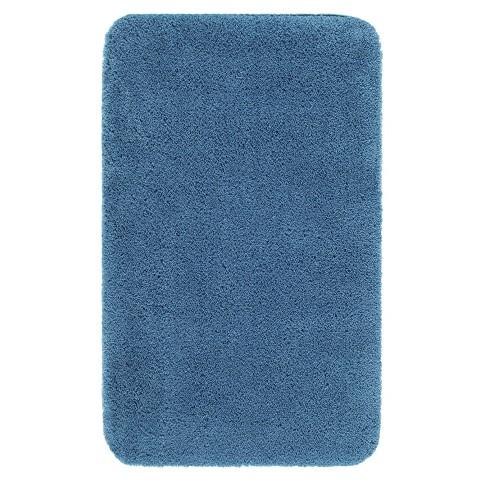 Awesome  Blue 30x50 Bath Rug  Contemporary  Bath Mats  By Overstockcom