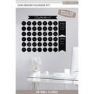 K&Company Chalkboard Calendar Kit