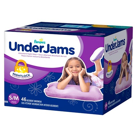 Pampers UnderJams Big Pack for Girls (Select Size)