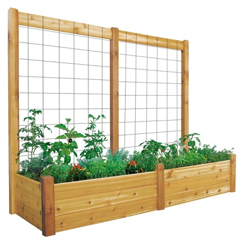 Gronomics Raised Garden Bed with Trellis