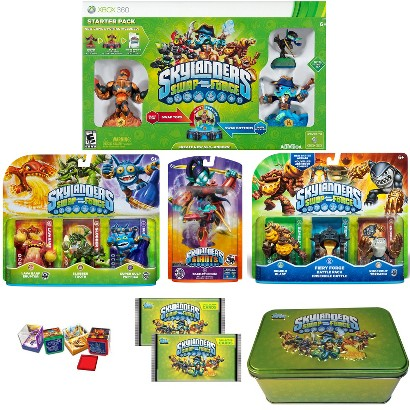 Skylanders Swap Force Super Starter Bundle with Battle Pack (Xbox 360)