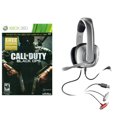 Call of Duty: Black Ops with X40 Stereo Headset (Xbox 360)