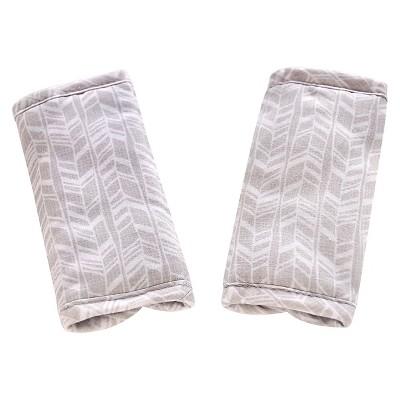 Eddie Bauer Reversible Strap Covers- Dark Grey