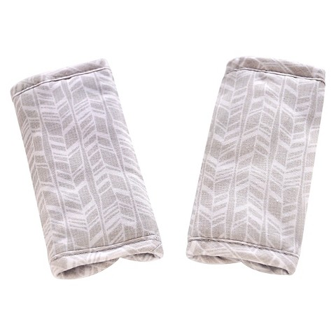 Eddie Bauer® Reversible Strap Covers - Light Gray