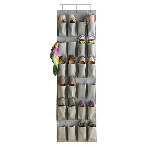 Room Essentials™ Hanging Shoe Organizer - Gray Mist