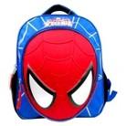 Marvel Spiderman Molded Face Mini Backpack - Blue / Red