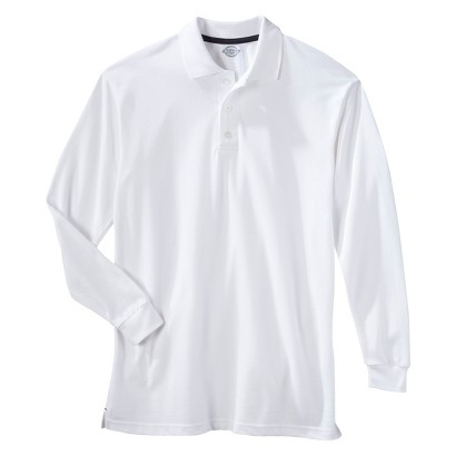 Dickies® Young Men's Long-Sleeve Performance Polo