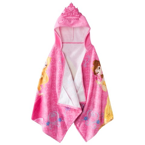 Disney® Princess Tiara Jewels Hooded Towel