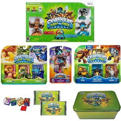 Skylanders Swap Force Super Starter Bundle with Battle Pack (Nintendo Wii)
