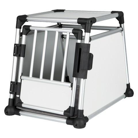 Scratch-Resistant Metallic Crate - Medium