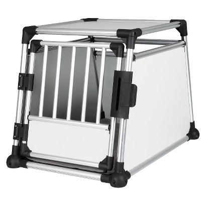 Scratch-Resistant Metallic Crate - Large
