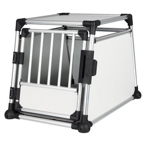Scratch-Resistant Metallic Crate - Large