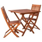 Smith & Hawken® Wood Folding Patio Di...