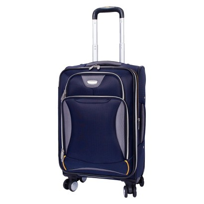 "SKYLINE EASE 20"" SPINNER UPRIGHT SUITCASE - BLUE"