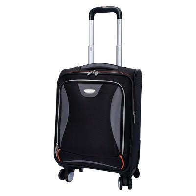 "Skyline Ease 17"" Spinner Carry On Luggage - Black"