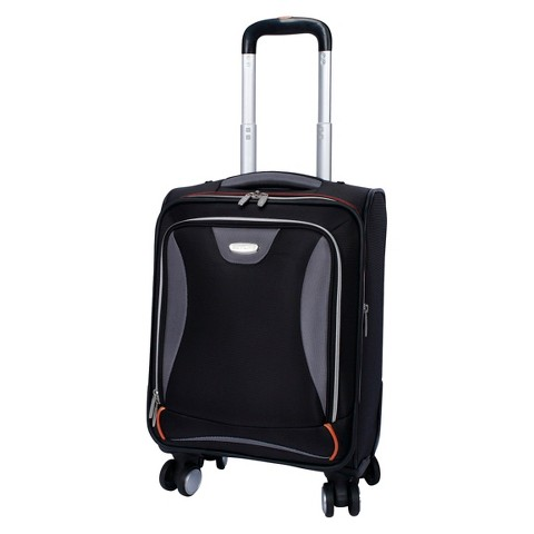 "Skyline Ease 17"" Spinner Upright Suitcase - Black"